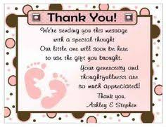 thank you card for baby shower personalised baby shower thank you card design 10 baby shower