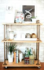 kitchen coffee bar ideas kitchen coffee bar ideas coffee bar cart for your kitchen coffee