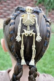 skelton halloween scary u0026 creative halloween hairstyles pretty hairstyles com
