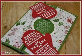 smitten mitten gatefold christmas card creatively homemade