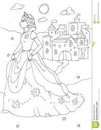 princess castle coloring pages 14 princess castle coloring pages
