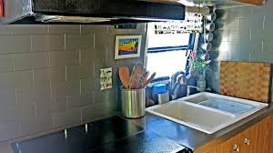 Airstream Update Kitchen Backsplash WatsonsWander - Stick on kitchen backsplash