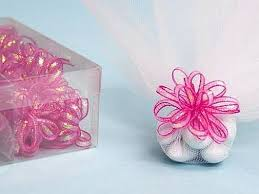 ribbon bows 36 pcs pre made ribbon bows for wedding party favors decorations