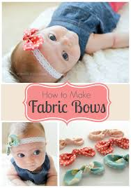 fabric bows craftaholics anonymous how to make fabric bows tutorial