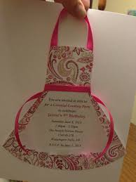 Customizing Kitchen Aprons Cooking Party Apron Invitation Party Ideas Pinterest Apron