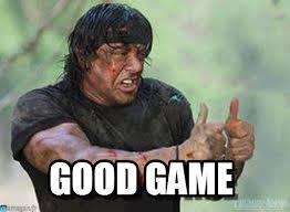 Game Meme - good game stallone meme on memegen