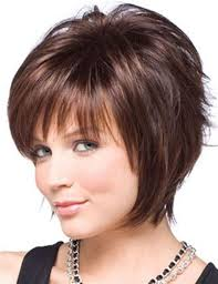wigs short hairstyles round face short haircuts for round faces and thick hair globezhair