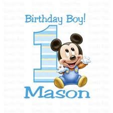 baby mickey 1st birthday disney mickeys 1st birthday blowouts 8 disney birthdays and ps