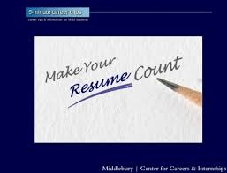 View Resumes Online by Resumes Cover Letters Middlebury