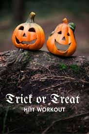 burn off the halloween candy with this trick or treat hiit workout