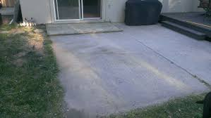 how to build a paver patio on a cement slab step 1 u2013 destroy the