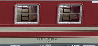 carrozze cuccette 55115 set due carrozze a cuccette tipo 1985r fs