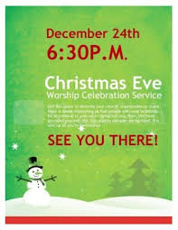 snowman christmas church flyer template flyer templates within