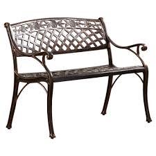 cast aluminum outdoor metal garden bench metal garden benches for
