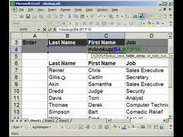 pivot tables and vlookups in excel vlookup introduction explanation exle in excel 1 of 2 youtube