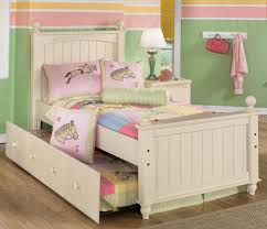 Twin Wooden Bed by Adjustable Beds Sturdy Kids Wooden Beds With Cute Bedding Set