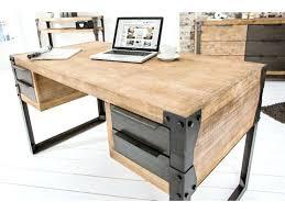 bureau bois massif occasion bureau massif bureau blanc l150cm avec piactement en bois massif