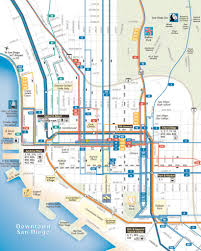Map Of Downtown San Diego by San Diego County Transit Maplets