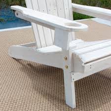 Adirondack Patio Chair Pelican Hill Wood Adirondack Patio Chair With Pull Out Ottoman