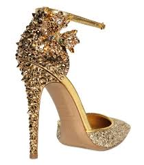 wedding shoes gold the wedding heel gets footloose and fancy free thefeministbride