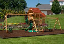 happy haven backyard kids play set play mor swingsets in ohio