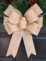 christmas tree bow topper diy burlap christmas bows burlap bow christmas tree topper small