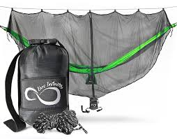 winner outfitters double camping hammock amazon com double blue middle grey edges with straps sports