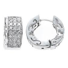 white gold huggie earrings 14 best white gold diamond huggie earrings images on