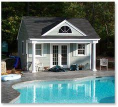 poolside escapes pool houses rounding and magazines