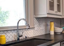 porcelain tile kitchen backsplash arabesque tile kitchen backsplash westside tile and avaz