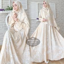wedding dress syari syari monalisa lesilia fashionista grosir