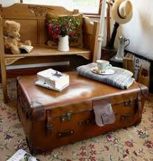 Suitcase Coffee Table Interesting Suitcase Coffee Table Home Designing