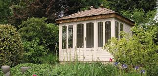Summer Garden Sheds - garden summer houses surrey woodcote garden buildings