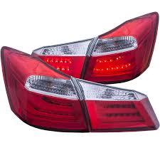 lexus lights for honda accord anzo usa honda accord 13 15 4dr projector headlights u bar black