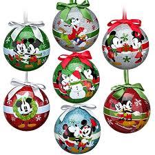 disney the magic mickey ornament set 7 pc