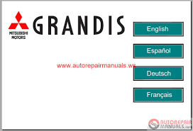 mitsubishi grandis 2008 service manual auto repair manual forum