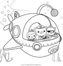 octonauts coloring pages getcoloringpages