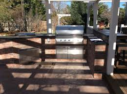 brick outdoor kitchen island in superior co u2013 hi tech appliance