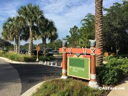 temporary parking change at kidani village animal kingdom lodge
