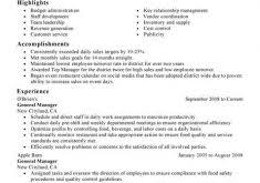 Restaurant General Manager Job Description Resume by Best Restaurant General Manager Resume Bar Manager Resume