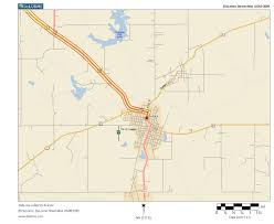 Ada Michigan Map by Oklahoma Highways State Route 3 Ada To Coalgate