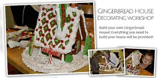 Gingerbread House Decoration Gingerbread House Decorating Workshop Strossner U0027s Bakery Cafe