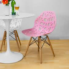 mod made stencil cut out eiffel dining side chair set of 2
