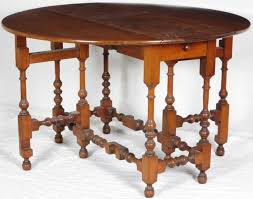 william and mary table william and mary style drop leaf table