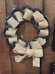 horseshoe wreath horseshoe wreath