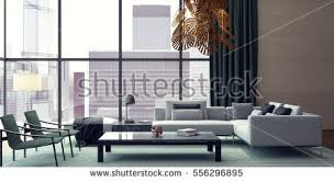 modern livingroom designs modern interior design living room 3d stock illustration 429841057