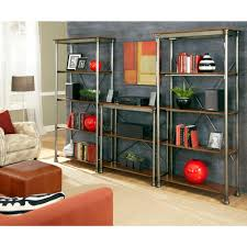 Storage Home by Home Styles 13 Shelf 114 In W X 76 In H X 16 In D Wood And