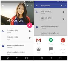 contacts app android sneak peek at android l s redesigned settings gmail
