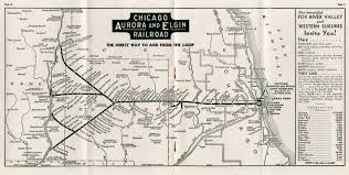 Chicago Bike Map by Greatthirdrail Org Maps
