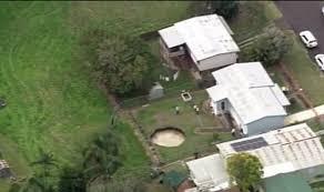 Sinkhole In Backyard Sinkhole Swallows Australian Elderly Couple U0027s Garden World
